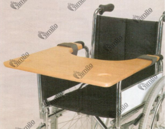 Table-stand for wheelchair